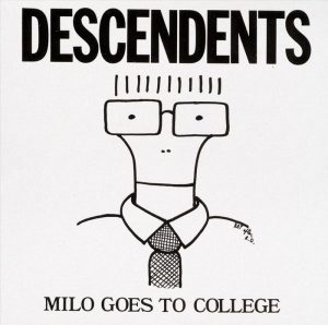 Portada de Milo Goes to College (1982).