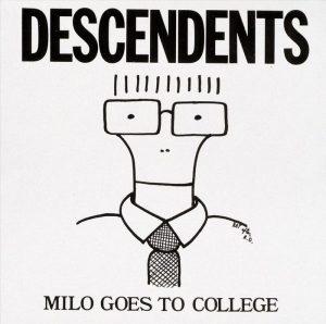 Portada de Milo Goes to College (1982).
