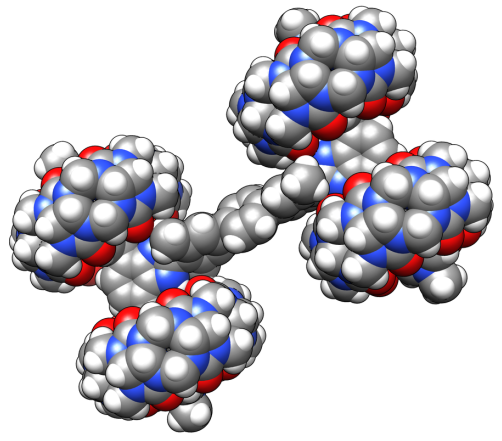 Nanocoche Nanobobcat, de la Universidad de Ohio. Imagen de OU.