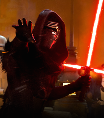 Kylo Ren en Star Wars Episodio VII. Imagen de 20th Century Fox.