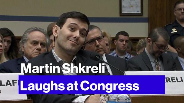 Martin Shkreli. Imagen de YouTube.