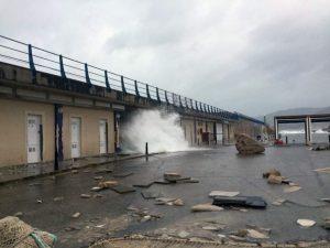 Estragos causados por un temporal en Mallorca. Imagen del gobierno balear.