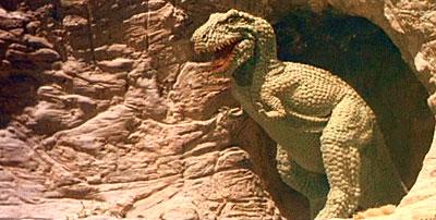 Fotograma de la película 'El planeta de los dinosaurios' (1977). Imagen de Cineworld Pictures.