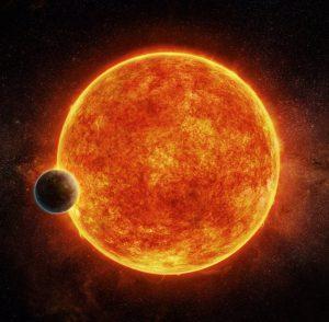 Ilustración del exoplaneta LHS 1140b. Imagen de M. Weiss/CfA.