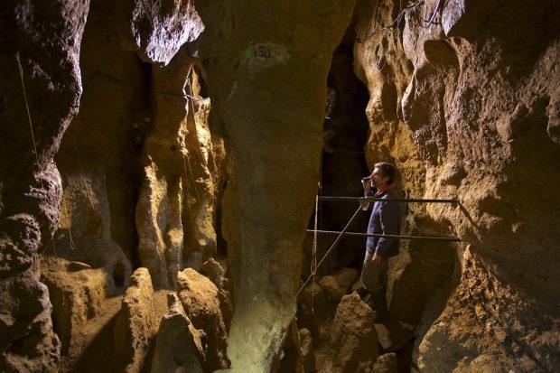 Cueva de El Sidrón. Imagen de Joan Costa / CSIC.