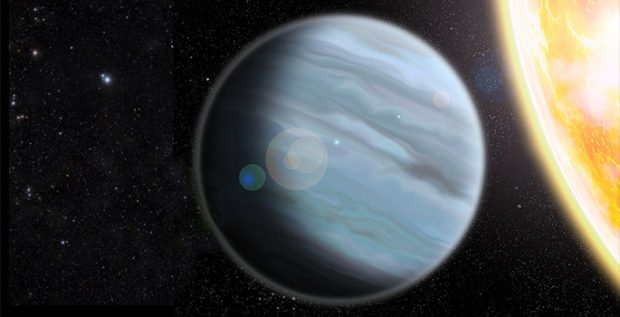 Ilustración del exoplaneta KELT-11b. Imagen de Walter Robinson/Lehigh University.