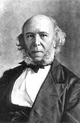 Herbert Spencer. Imagen de Wikipedia.
