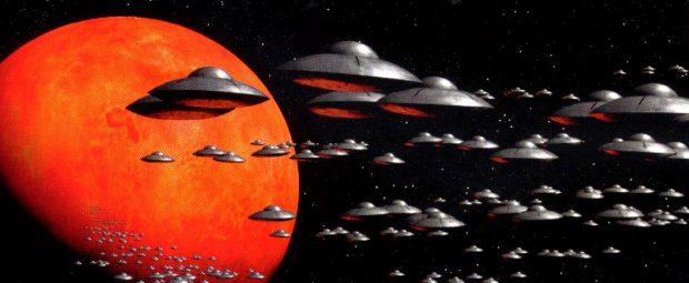 Imagen de 'Mars Attacks!' (1996), de Tim Burton. Warner Bros.