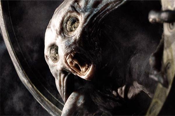 Marciano moribundo en 'La guerra de los mundos' (2005). Imagen de Paramount Pictures.