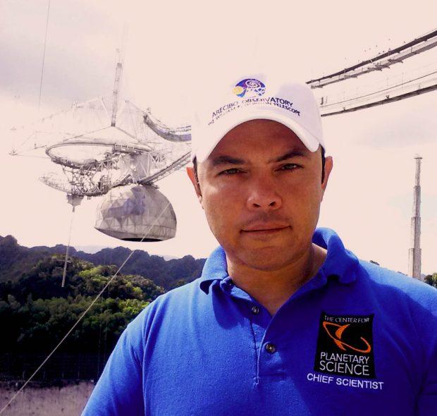 El protagonista de la polémica, el astrónomo Antonio Paris. Imagen de The Center for Planetary Science.