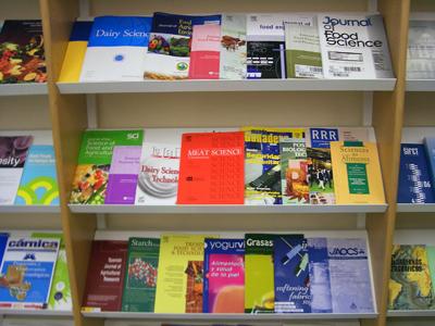 Revistas científicas. Imagen de Wikipedia.