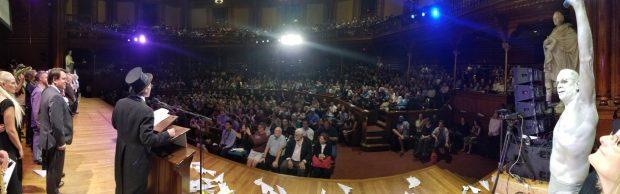 Ceremonia de entrega de los premios Ig Nobel 2017. Imagen de Improbable Research.