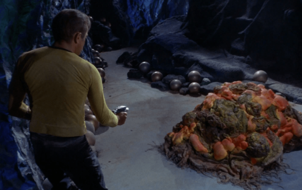 Un alienígena basado en el silicio en el episodio 'The Devil in the Dark' de la serie 'Star Trek' (1967). Imagen de CBS Television Distribution.