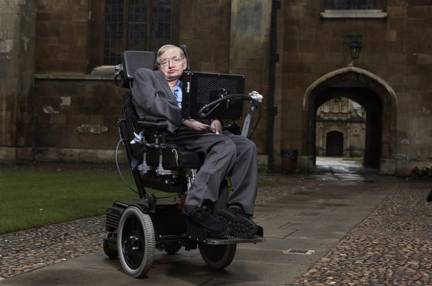 Stephen Hawking en la Universidad de Cambridge. Imagen de Lwp Kommunikáció / Flickr / CC.