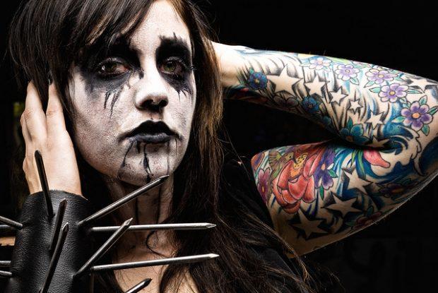Una seguidora del Black Metal. Imagen de Flickr / Robert Bejil / CC.