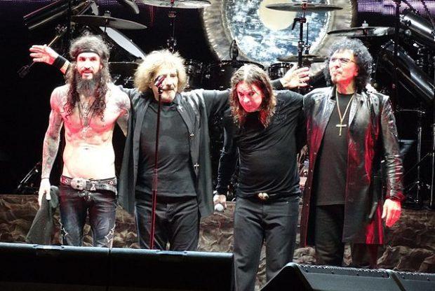 Black Sabbath en Brasil en 2013, durante la gira de su último álbum '13'. Imagen de Wikipedia / Robson Batista.