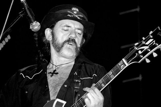 Lemmy KIlmister, de Motörhead, en México en 2006. Imagen de Wikipedia / Alejandro Páez.