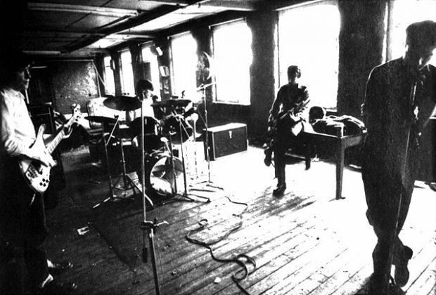 Joy Division en 1979. Imagen de Wikipedia / Remko Hoving.