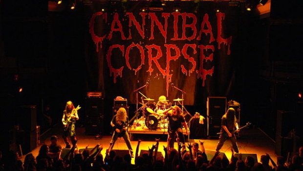 Cannibal Corpse en concierto en Washington en 2007. Imagen de Chris Buresh / Wikipedia.