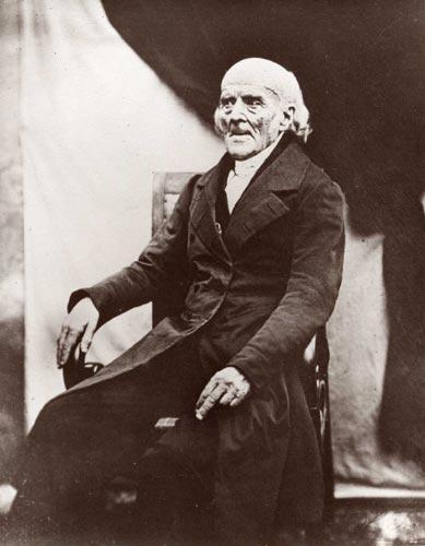 Samuel Hahnemann en 1841. Imagen de Wikipedia.
