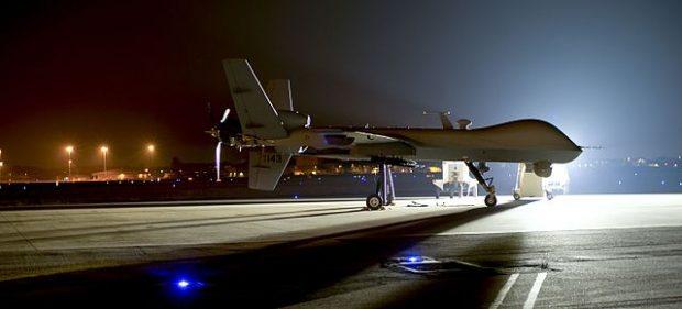 Dron MQ-9 Reaper. Imagen de USAF.