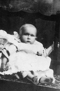 """El """"niño desconocido"""" del Titanic, Sidney Goodwin. Imagen de Wikipedia."""