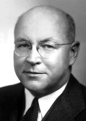 Wendell Meredith Stanley en 1946, el año en que ganó el Nobel de Química. Imagen de Wikipedia.