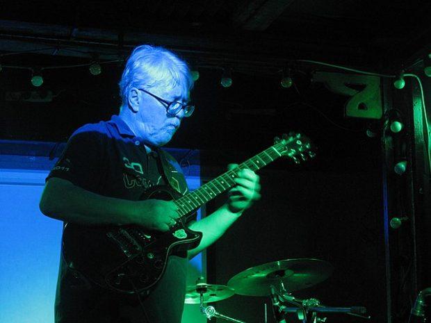 El guitarrista ruso Andrei Suchilin en 2017. Imagen de Krassotkin / Wikipedia.
