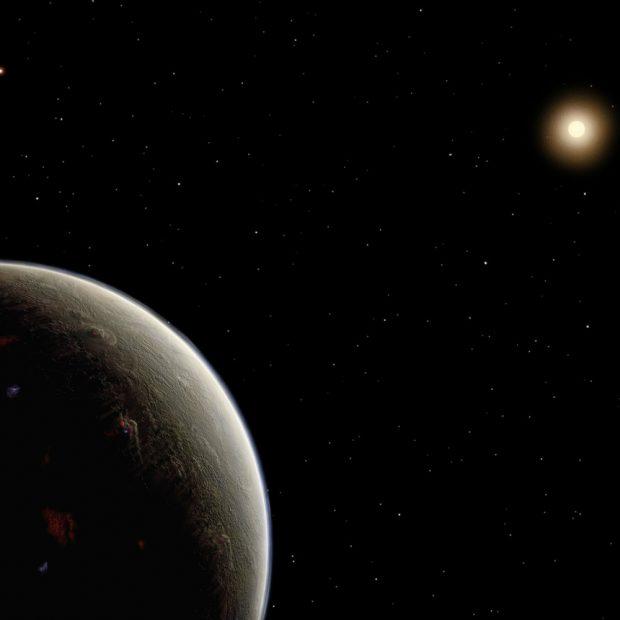 Ilustración del planeta HD 26965b. Imagen de Universidad de Florida.