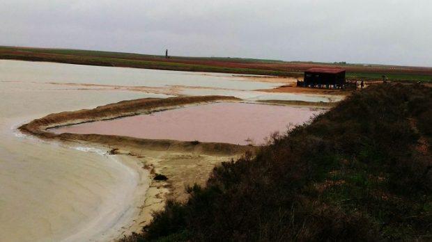 La laguna de Peña Hueca, en Villacañas (Toledo). Imagen de Europlanet / F Gómez / R Thombre.