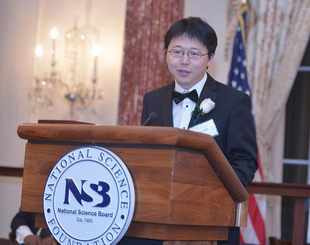 Feng Zhang. Imagen de National Science Foundation.