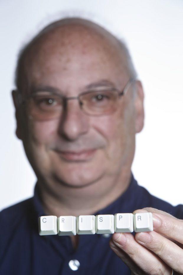 Francisco JM Mojica. Imagen de Roberto Ruiz / Universidad de Alicante.