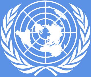 Emblema de las Naciones Unidas. Imagen de Wikipedia.