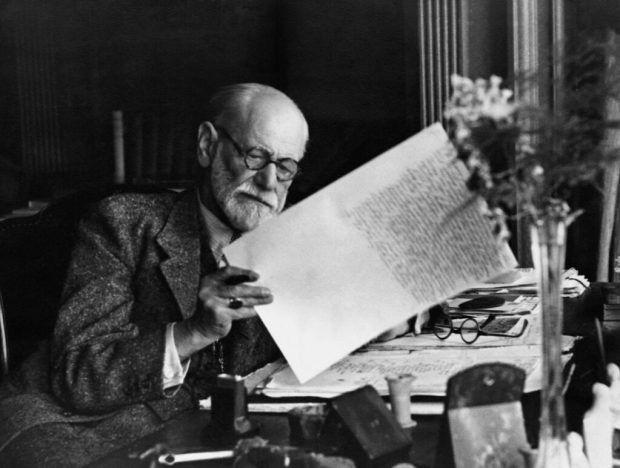 Sigmund Freud. Imagen de Tullio Saba / Flickr / Dominio público.