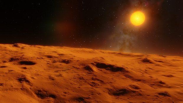 """Un exoplaneta considerado """"habitable"""" podría ser esto. Imagen de Max Pixel."""