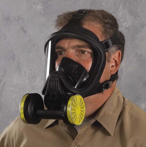 Máscara respiradora. Imagen de NIOSH, NPPTL / Wikipedia.