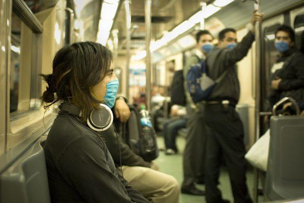 Una imagen de México D.F. en la pandemia de gripe A de 2009. Imagen de Eneas de Troya / Flickr / CC.