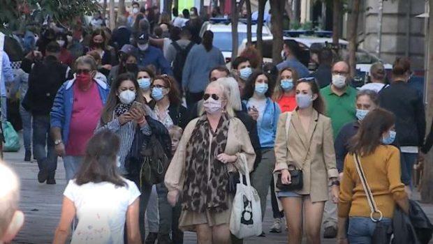 Una calle de Madrid en octubre de 2020. Imagen de Efe / 20Minutos.es.