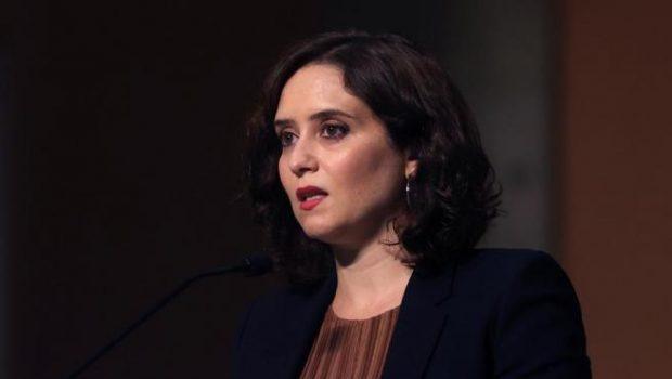 La presidenta madrileña, Isabel Díaz Ayuso.EFE/JuanJo Martín/20Minutos.es.