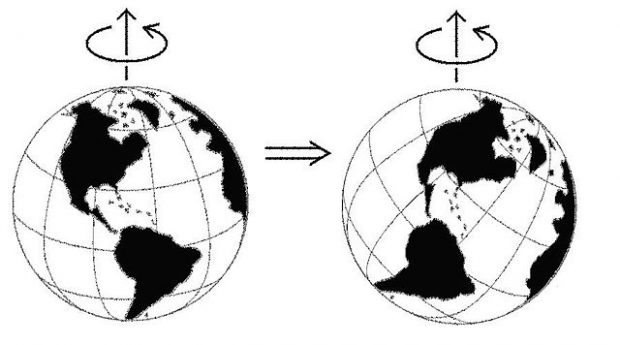 Desplazamiento polar. Imagen de Victor C. Tsai / Wikipedia.