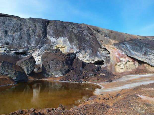 Paisaje análogo a Marte en Río Tinto, Huelva./Luis Cuesta