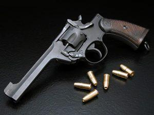 Revólver de 6 balas/ Simon Poter vía Flickr