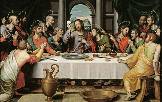 Last Supper Juan de Juanes