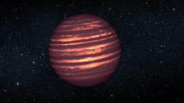 Ilustración de una enana marrón. / NASA/JPL-Caltech