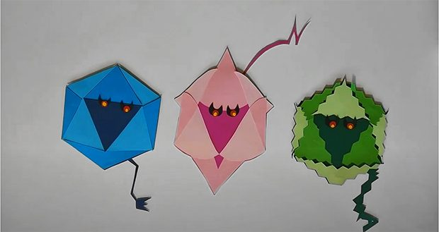 Imagen de Los virus entéricos, de la serie de animaciones del IATA