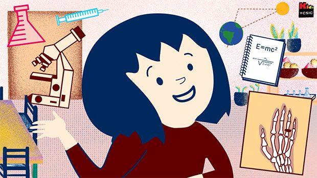 Fragmento de 'Una aventura en la Prehistoria', de Kids.CSIC