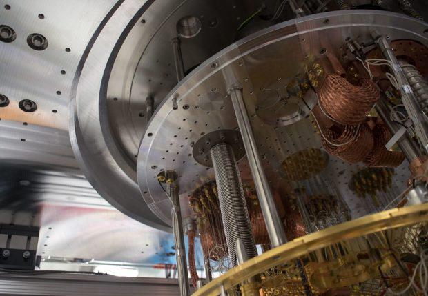 Interior de un ordenador cuántico