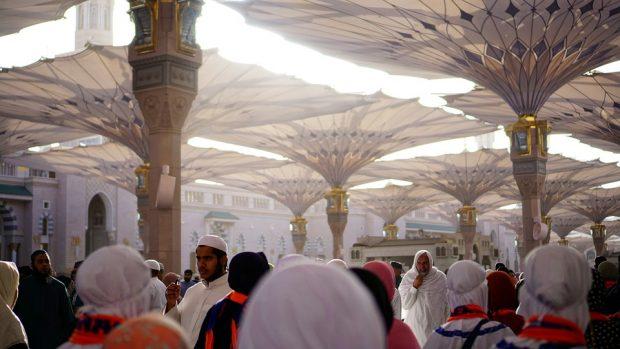 Al-Masjid an-Nabawi (la Mezquita del Profeta), en Arabia Saludita. / Pixabay