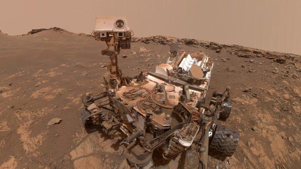 El róver Curiosity en Marte. / NASA/JPL-Caltech/MSSS