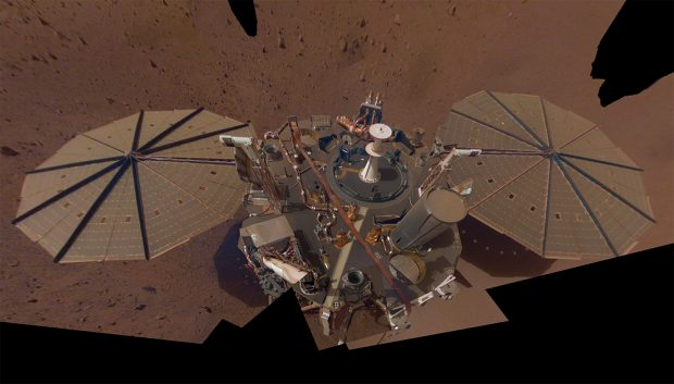 InSight en la superficie marciana. / NASA/JPL-Caltech